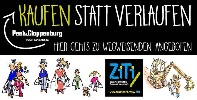 Carsten Seim, avaris | konzept: Imagekampagne für die Troisdorfer innenstadt