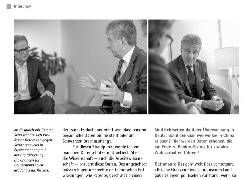 Carste Seim - Interview mit Professor Carl Friedrich Gethmann