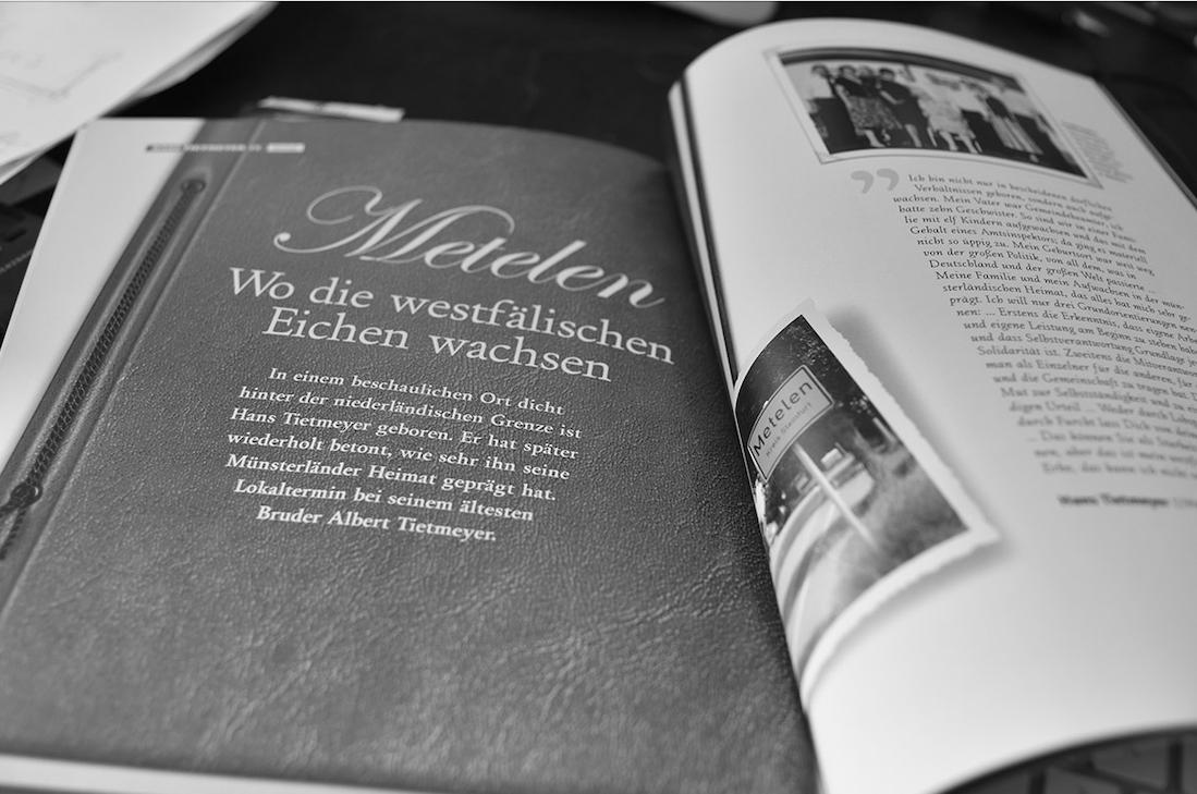 Hans Tietmeyer – Bericht über seine Heimat, Carsten Seim